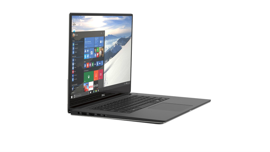 Windows 10 na notebooku Dell XPS 15