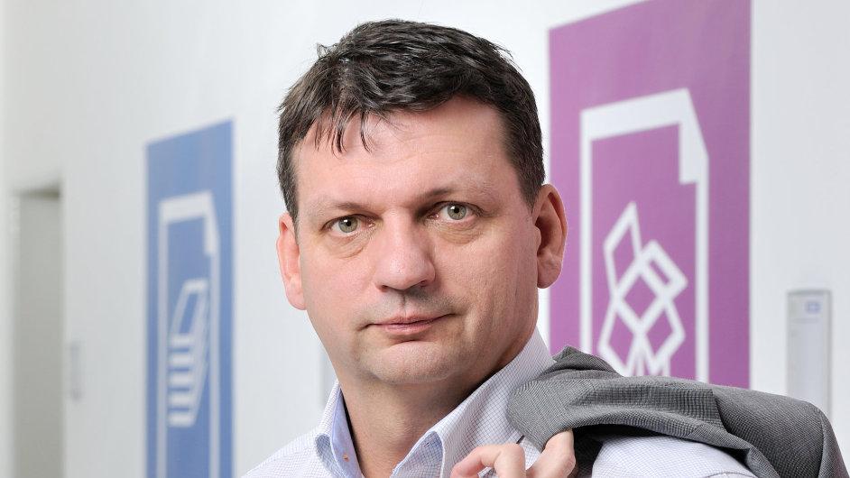 Petr Breburda, generální ředitel kombinované organizace společností OSPAP a Papyrus Bohemia