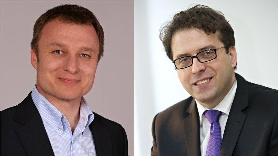 Dušan Švalek a Branimir Marić, top management T-Mobile Czech Republic a Slovak Telekom
