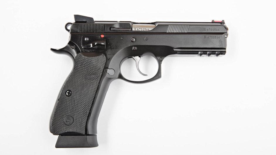 Pistole CZ 75