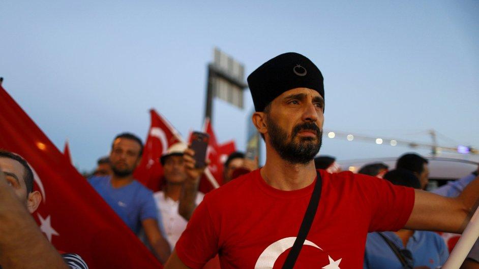 Turecko, demonstrace