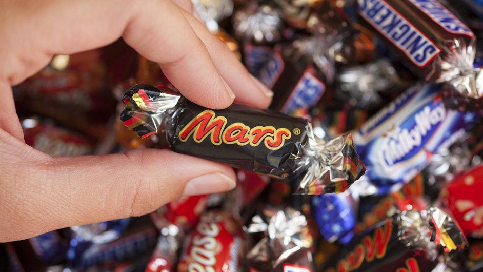 Tyčinka Mars, čokoláda