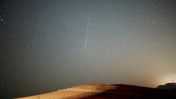 V noci na sobotu vyvrcholil meteorický roj Perseid.