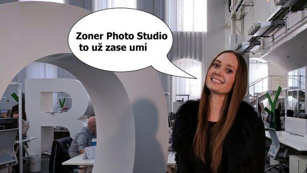 Zoner Photo Studio X v nové verzi umí vkládání grafiky a zvládne chytré doostření