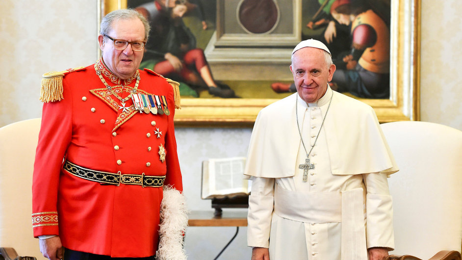 Matthew Festing Pope Francis