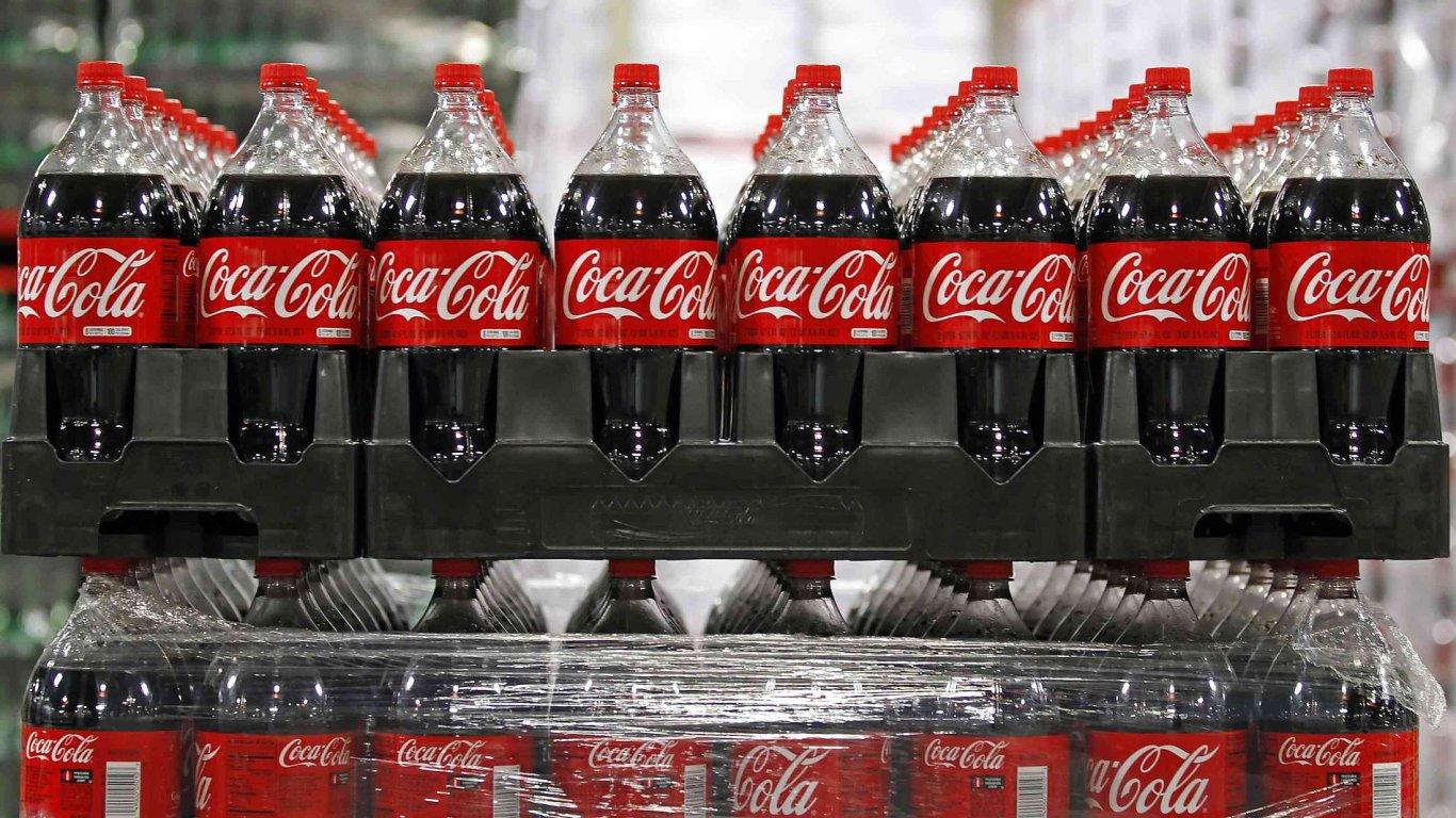 Coca-Cola v prvním čtvrtletí roku utržila 10,7 miliardy dolarů.
