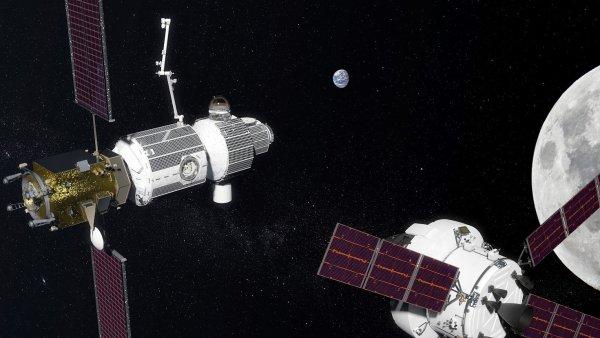 I takhle by mohla vypadat Deep Space Gateway.
