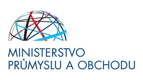 Logo Ministerstva průmyslu a obchodu