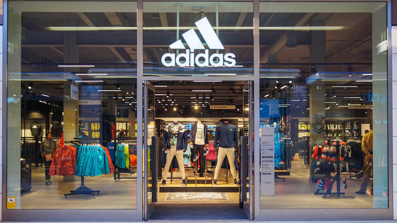 Ilustrační fotografie, Adidas, logo, 2017