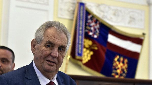Miloš Zeman navštíví sjezd SPD.
