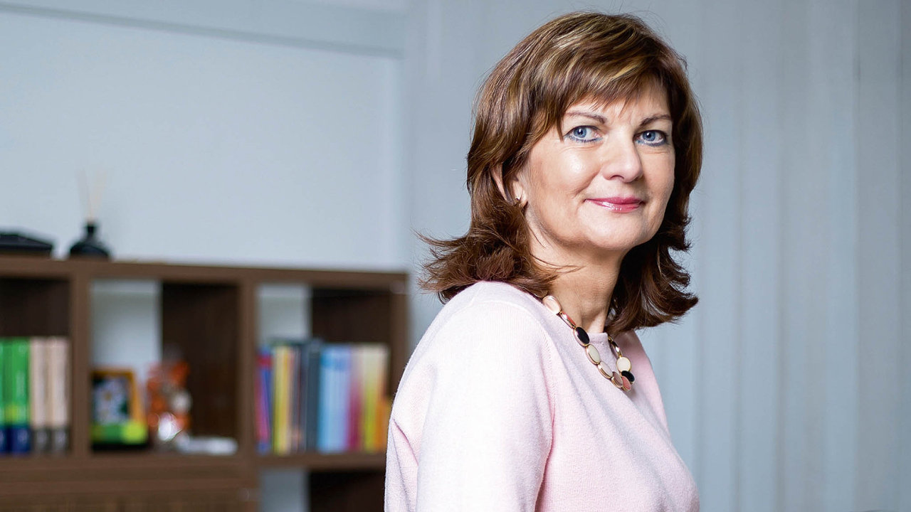 Majitelka realitní kanceláře Elena Klamárová.