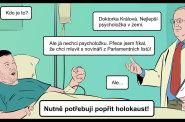 Další, prosím! Komiks Miloše Gašparce o Tomio Okamurovi