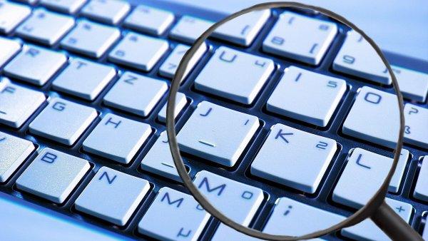 Spyware, phishing, spam, ilustrace