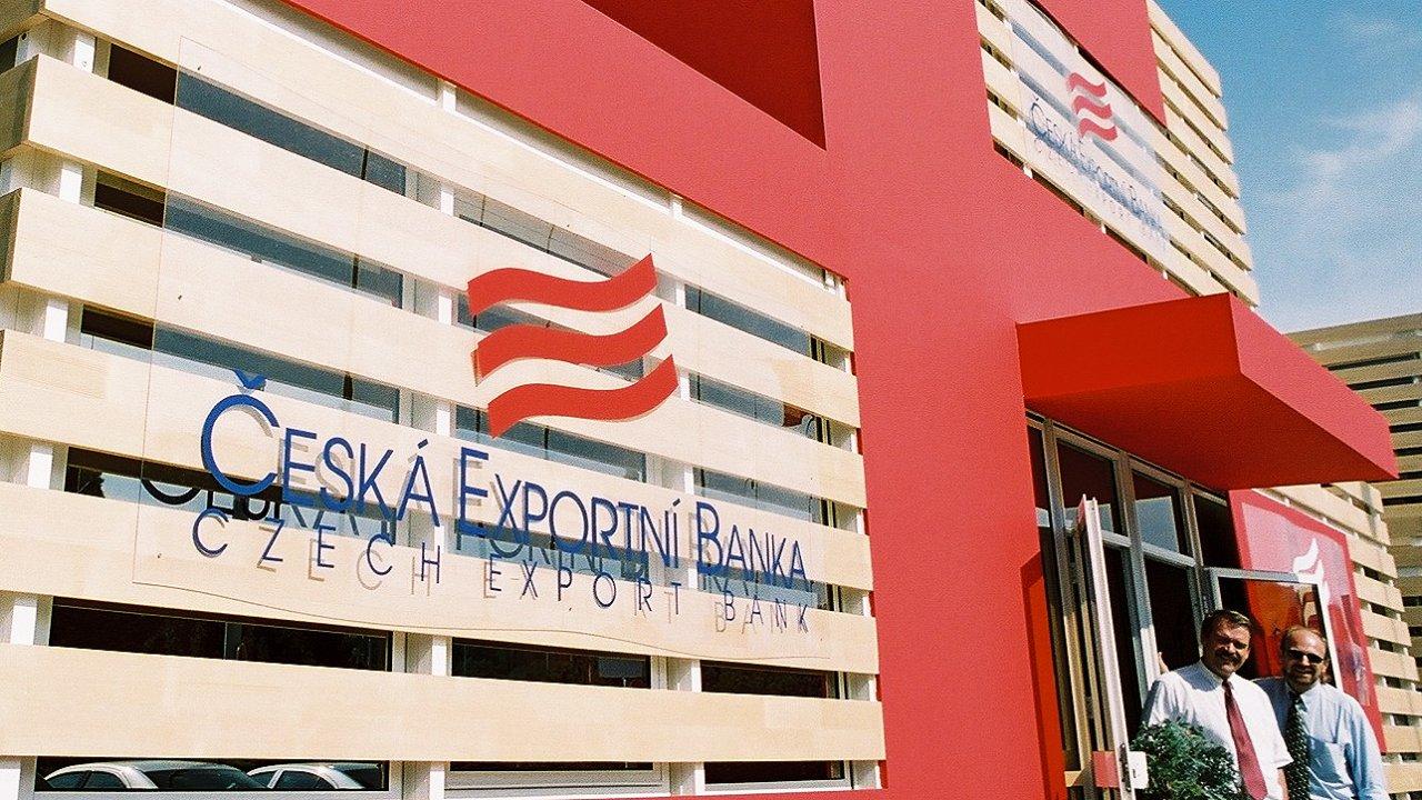 Česká exportní banka - Ilustrační foto.