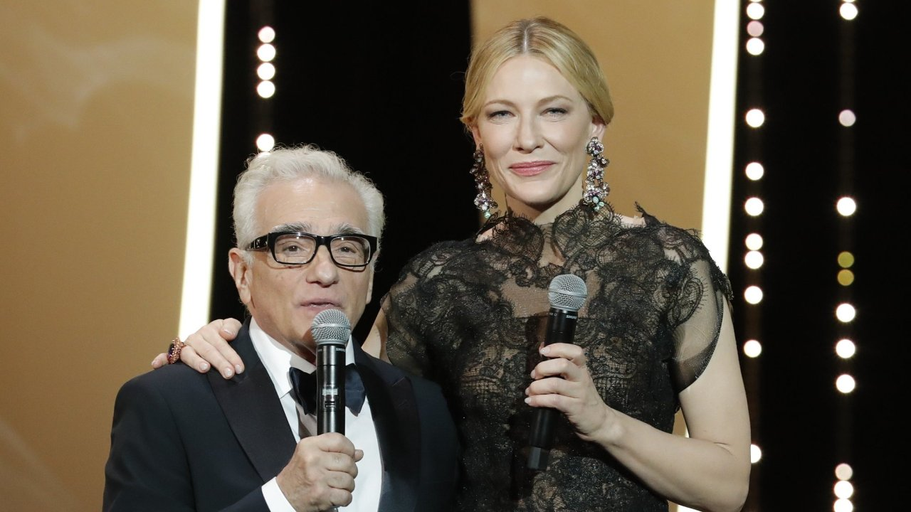 Cate Blanchett a Martin Scorsese