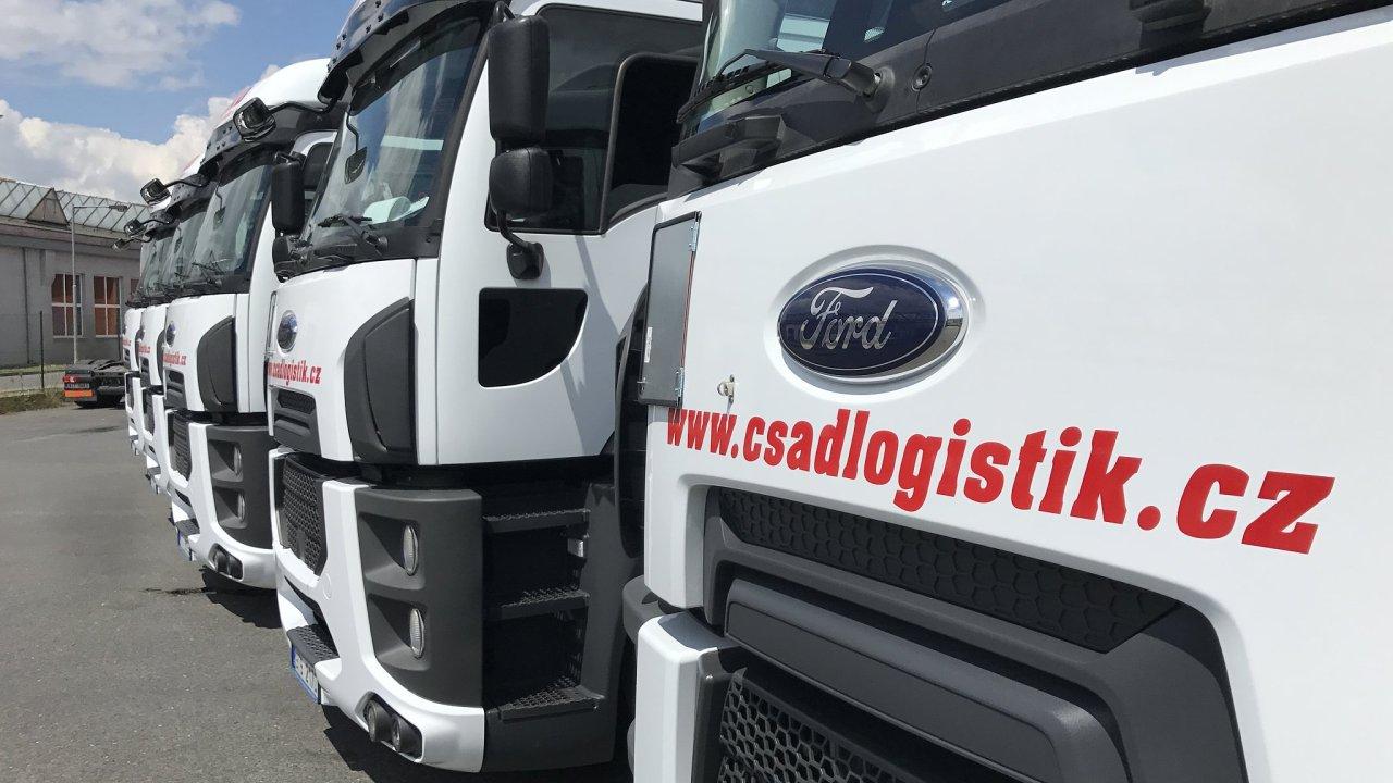 ČSAD Logistik Ostrava převzala pět tahačů Ford Trucks