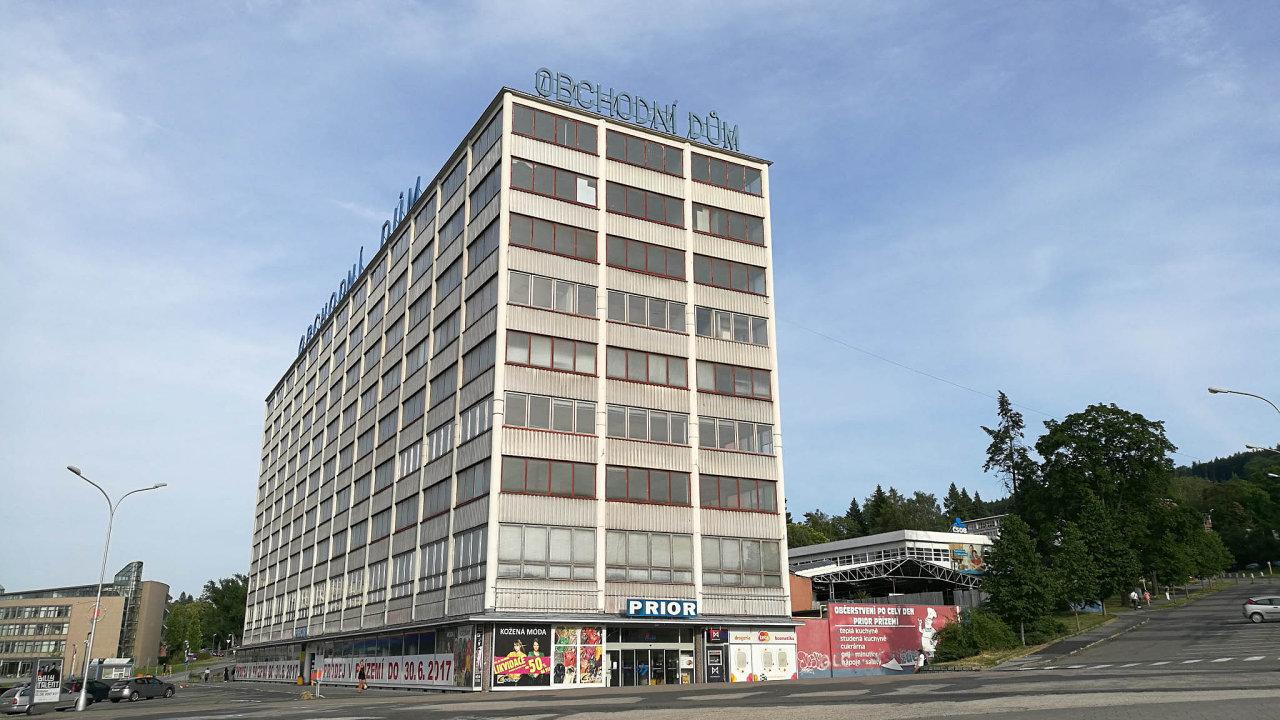 Konec Prioru: Zaéry Tomáše Bati to býval Obchodní dům, vdobách socialismu Obchodní dům Prior, nově se bude jmenovat Obchodní dům Zlín.