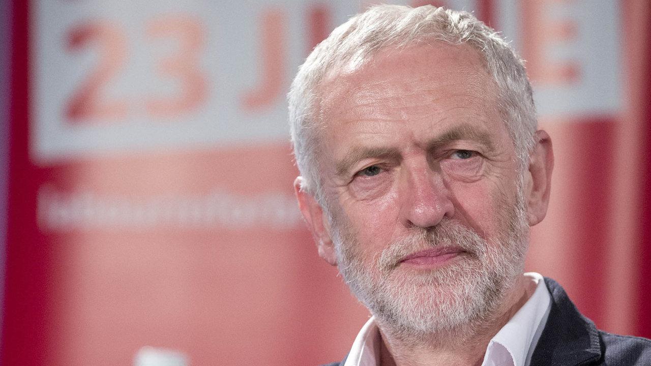 Lídr labouristů Jeremy Corbyn.