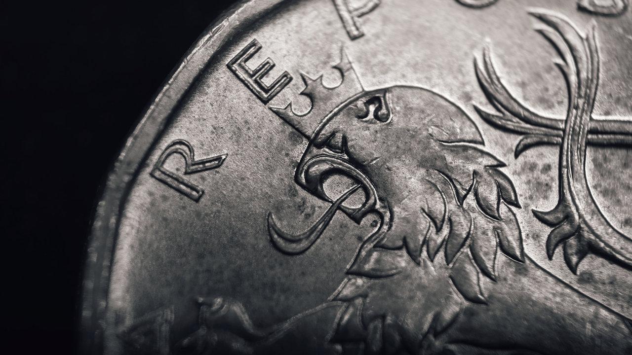 koruna, měna, kurz
