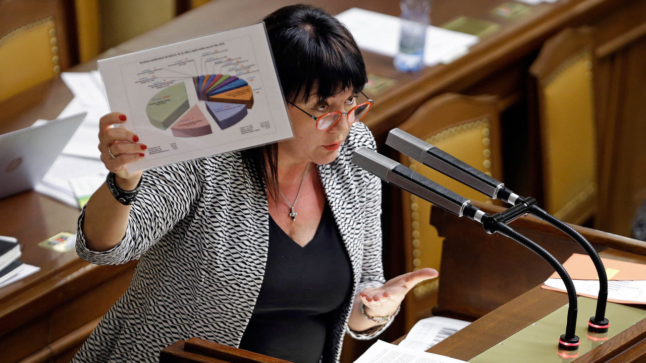 Chystáme reformu. Ministryně financí oznámila změny v daních, které ale její šéf v premiérském křesle později odmítl.