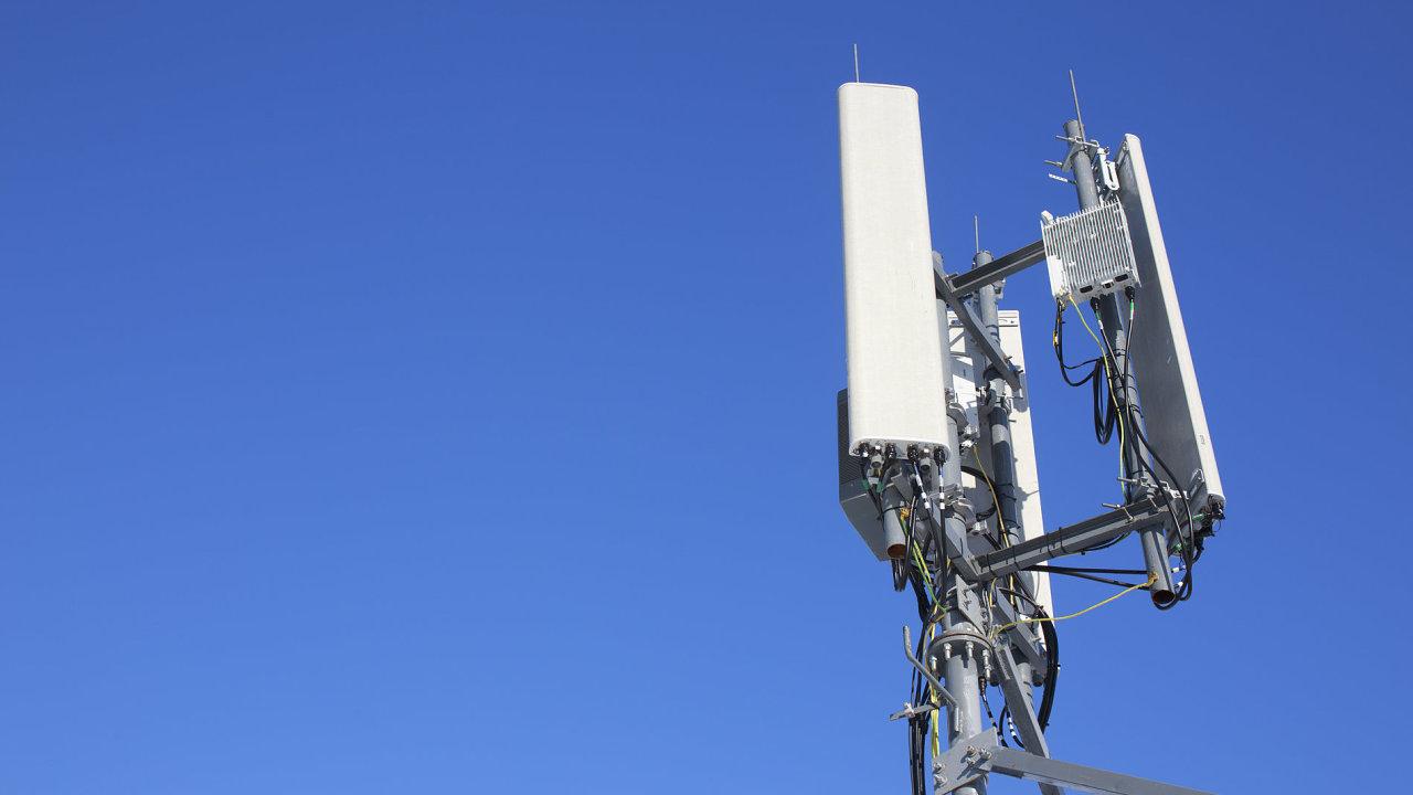 Vysílač pro signál LTE.