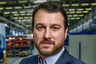 Gustavo Otero, prezident společnosti Doosan Bobcat v regionu EMEA