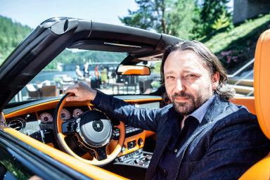 Automobilový designér Jozef Kabaň.