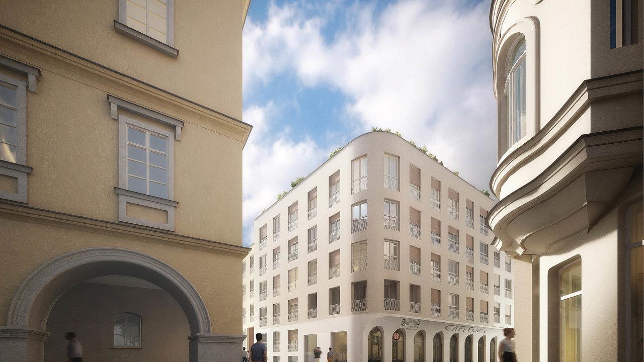 Nové Lauby: Vnovostavbě vznikne vcentru Ostravy celkem 85 nájemních bytů. Město nabízí pozemky isvypracovaným projektem investorům. Je připraveno výstavbu financovat i vlastními silami.