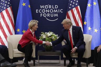 Von der Leyenová se sešla s Trumpem, chce obchodní dohodu mezi USA a EU. Cla na auta jsou zatím ze hry
