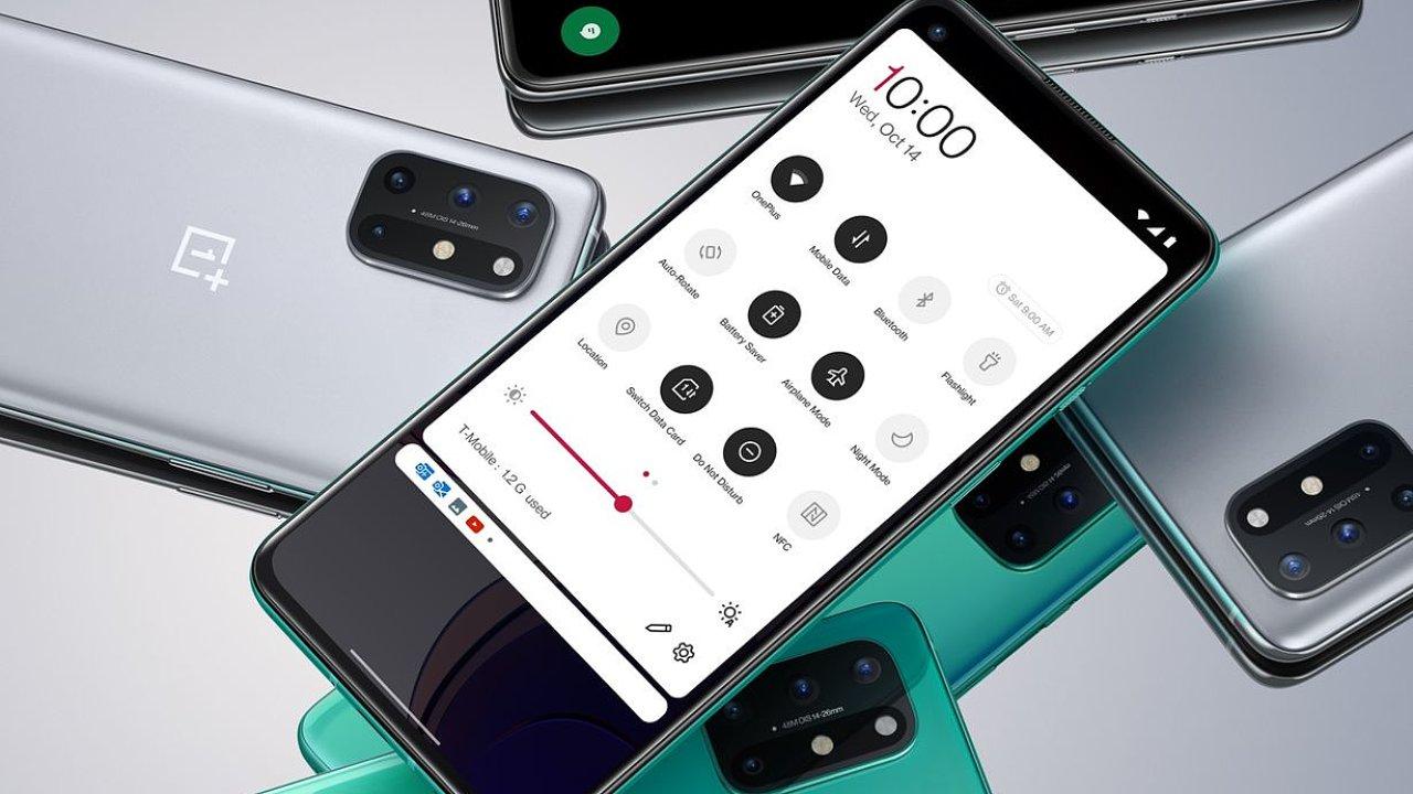OnePlus 8T láká na nejlepší displej na světě.
