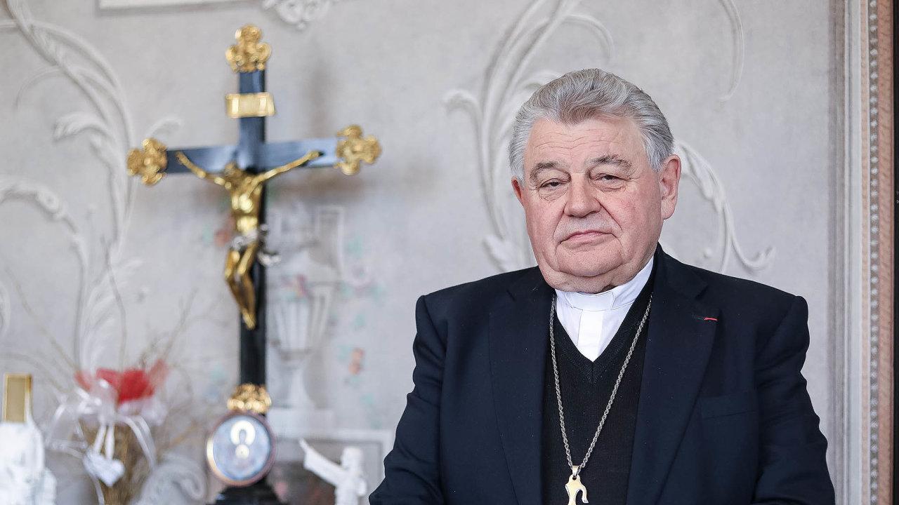 Kardinál aarcibiskup pražský Dominik Duka.