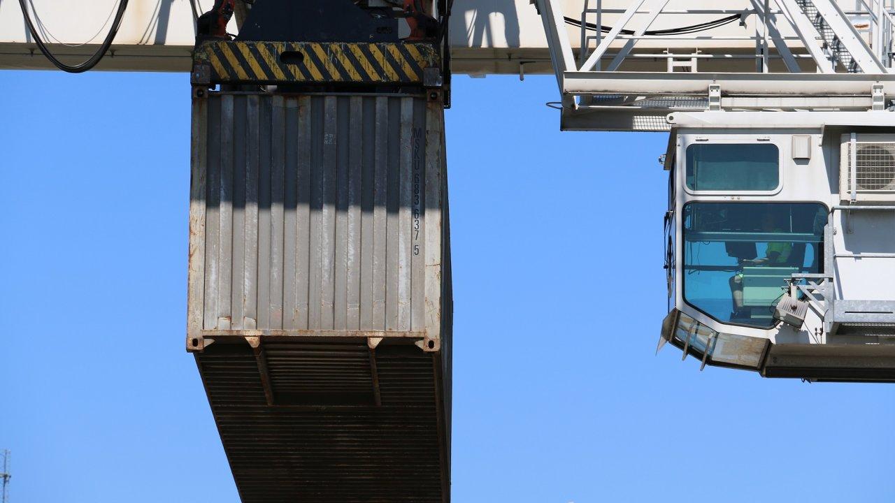Pokud jde o námořní zásilky, zákazníci cargo-partner na Balkáně těží z rychlého přístupu do Soluně (ilustrační snímek).