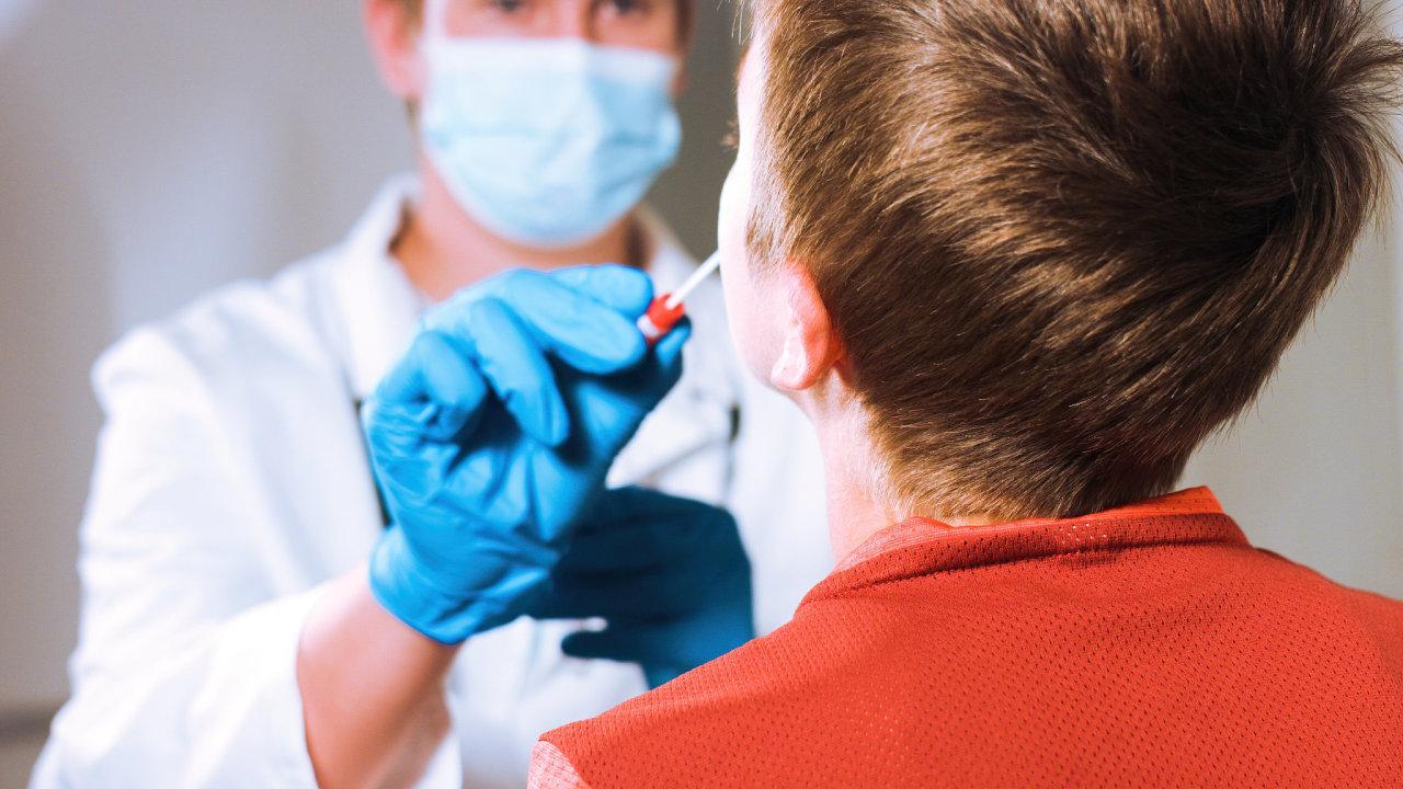 koronavirus, covid-19, test, dítě, škola