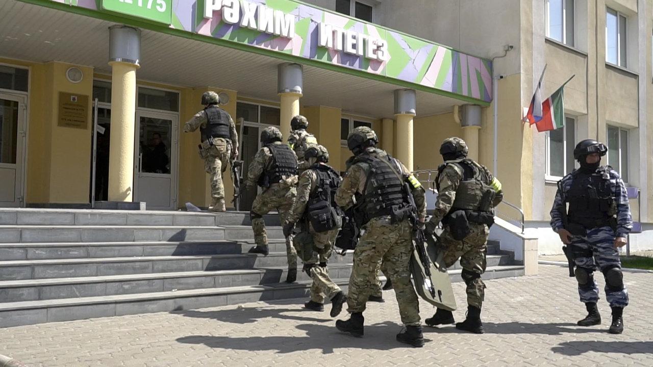 Rusko, Kazaň, kriminalita, škola, střelba