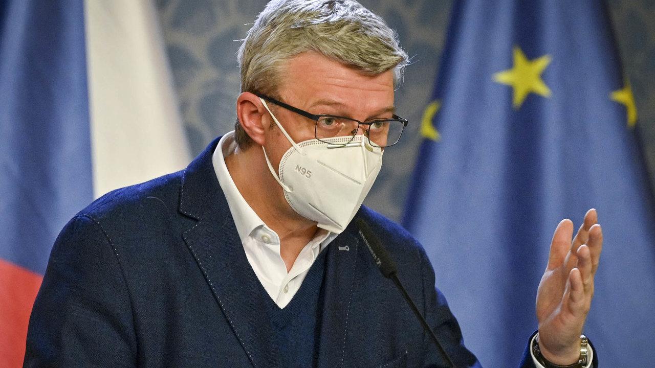 Peníze pro podnikatele: Ministr průmyslu Karel Havlíček chtěl původně sjednotit podporu firmám dojednoho programu. Minulý týden ale myšlenku opustil. Teď se zástupci firem znovu jedná.