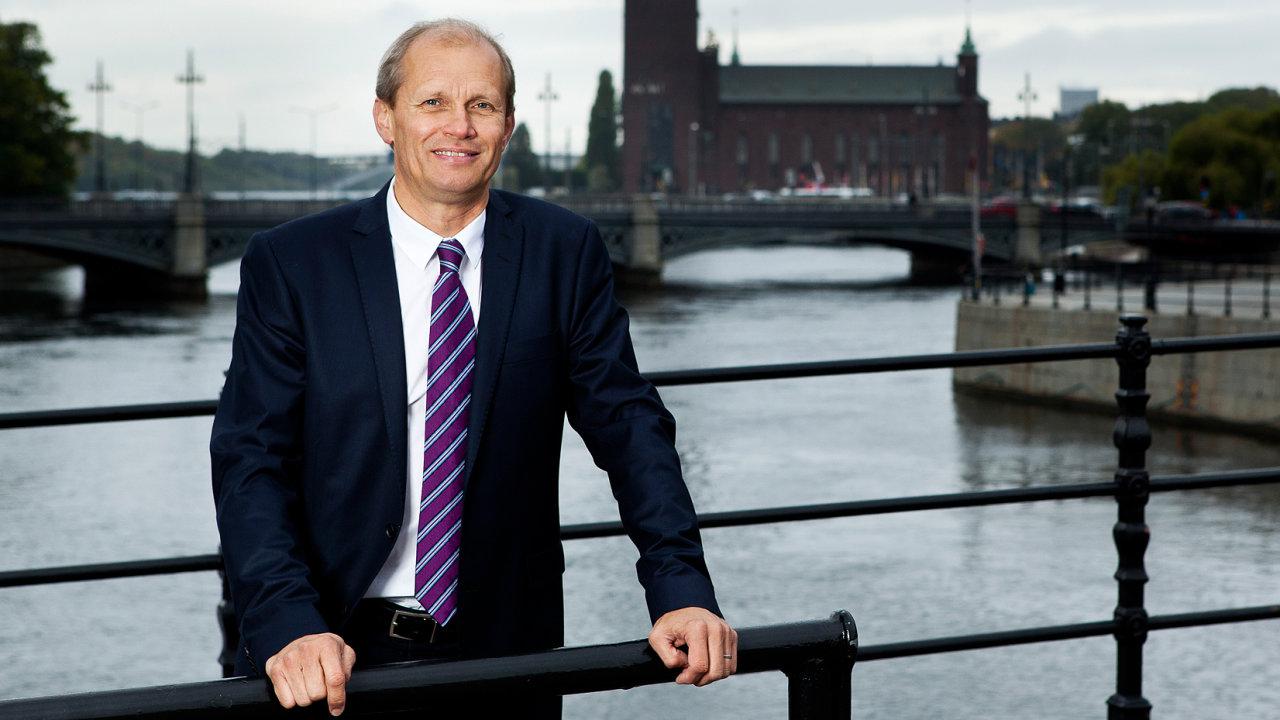 Torgny Holmgren je výkonným řditelem ve Stockholm International Water Institute.