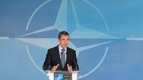 Šéf NATO Anders Fogh Rasmussen