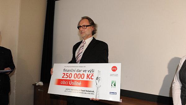 Starostou roku 2011 se vloni stal Pavel Ka�p�rek z jiho�esk� obce �siln�.