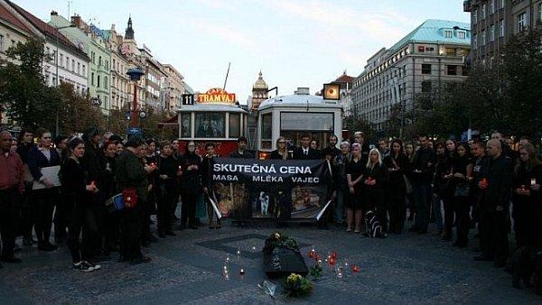 Světový den hospodářských zvířat v Praze 2. 10. 2012