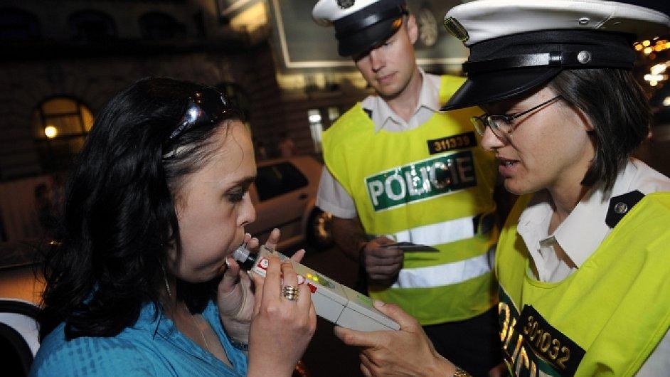 Dopravní policie, dechová zkouška