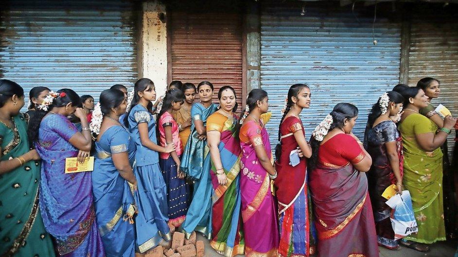 Indické ženy, ilustrační oto