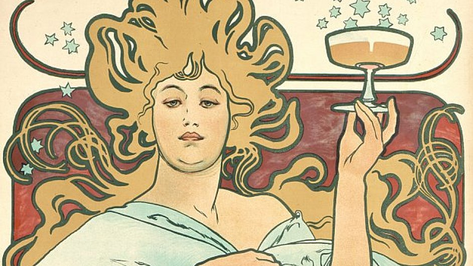 Z výstavy plakátů Alfonse Muchy v Chrudimi