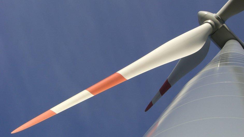 Větrná elektrárna, ilustrační foto.