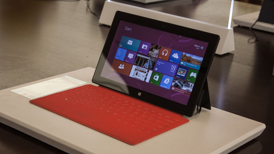 Tablet Surface v Microsoft Store