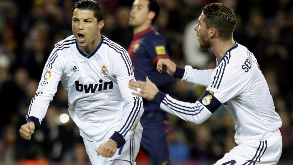 Cristiano Ronaldo a Sergio Ramos, opory Realu Madrid