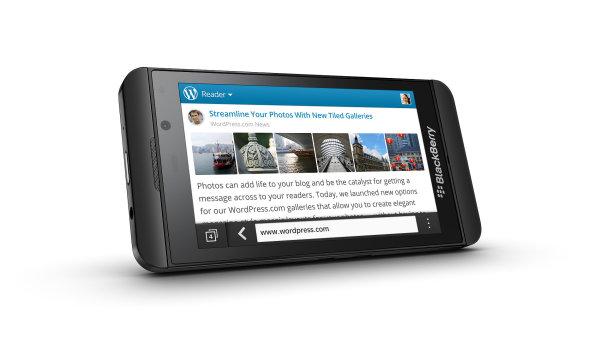 Chytr� telefon Blackbery Z10