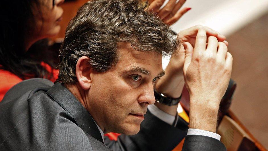 Arnaud Montebourg, francouzský ministr průmyslu.