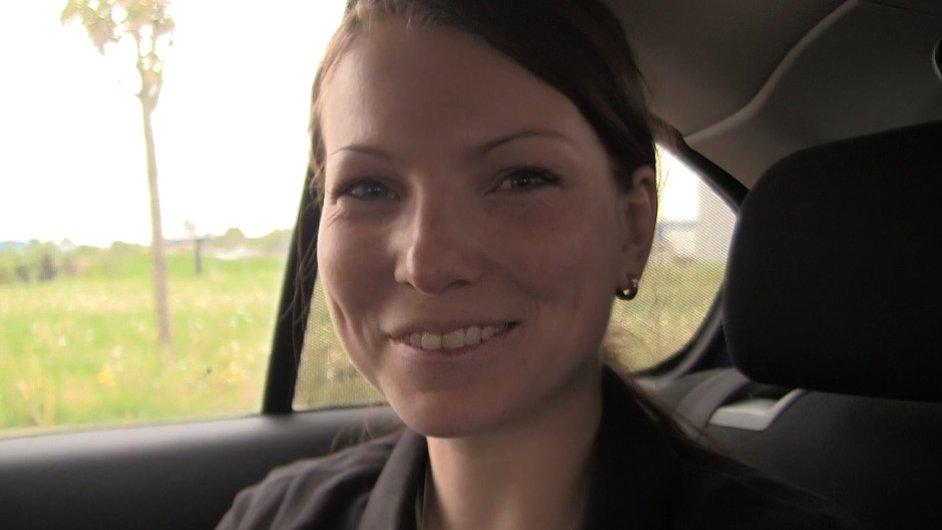 Specialistka mobilního mapování Soňa Nováčková