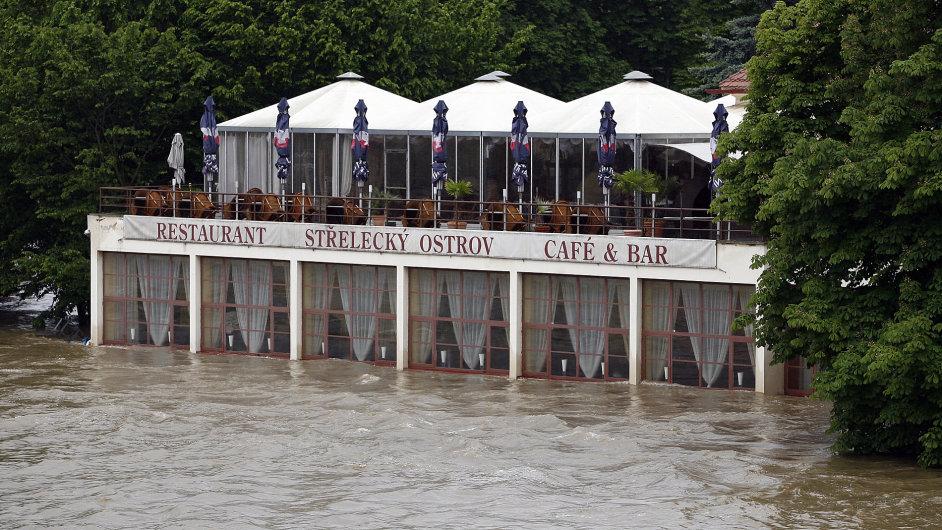 Střelecký ostrov, Praha 4. června 2013