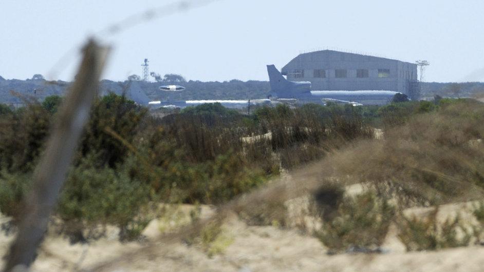 Základna Akrotiri na Kypru.